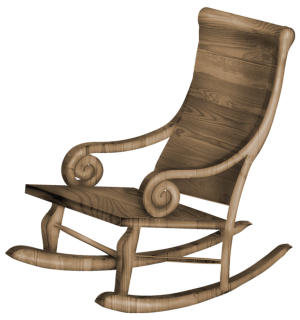 a rocking chair