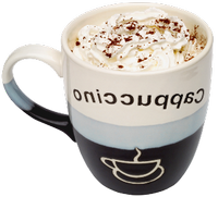 a refreshing cappuccino