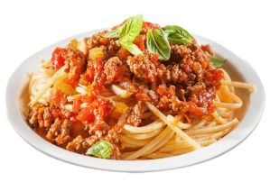 spaghetti with beef sauce