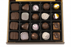 a luxury box of chocolates