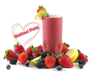a tasty fruit smoothie